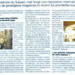 Article dans Nice Matin du 02:11:2019 Georges Pelletier