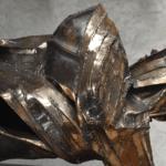 Equilibre illusoire Julien Allegre Tirage Bronze 12 exemplaires. détail back