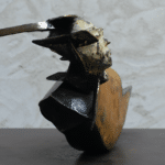 Equinoxe sculpture bronze de Julien Allegre