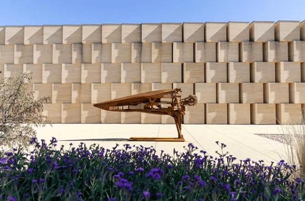 Sculpture Julien Allegre - Domaine de OTT