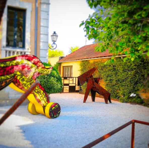 Sculpture La Bête de Julien Allegre - Villa Datris