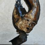 Sculpture de Julien Allegre - Eclipse - face
