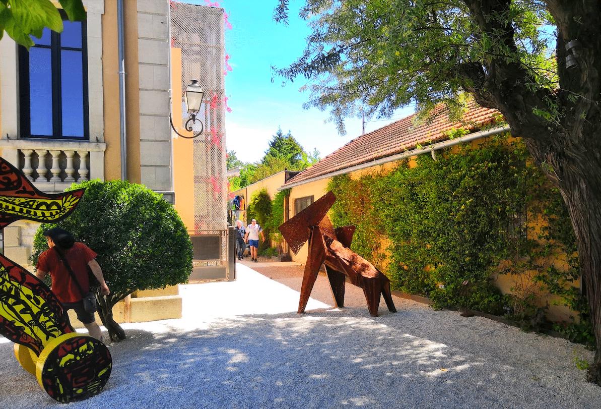 Sculpture monumentale de Julien Allegre