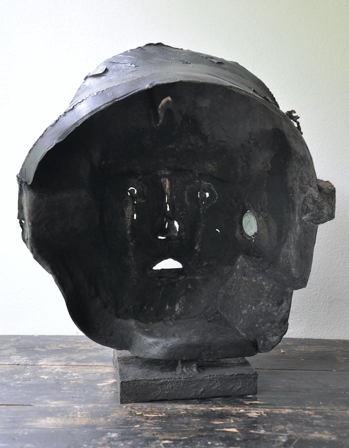 Sculpture bronze de Julien Allegre - zakir 7.8 - dos