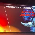 Victoire de l'innovation prix du design Antoine Jourdan