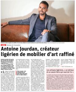 Antoine Jourdan- Parution Presse - Le Progrès - Janvier 2019