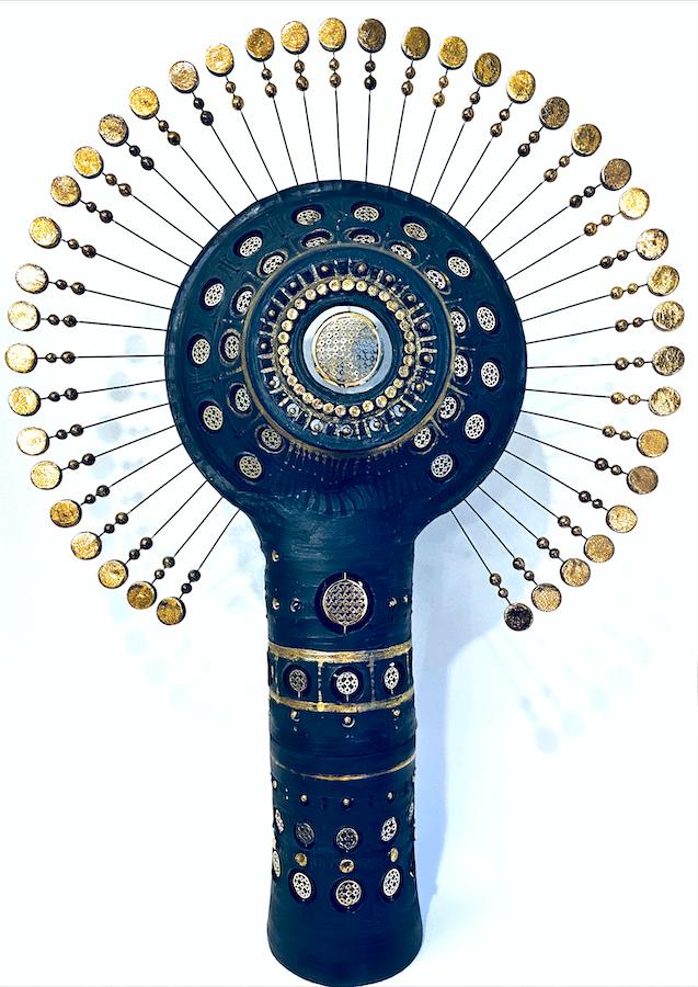 Lampe Soleil Georges Pelletier Tournaire Paris
