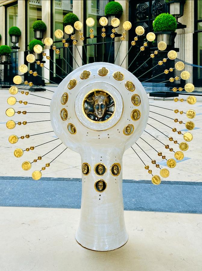 Lampe Soleil Georges Pelletier - Tournaire Paris