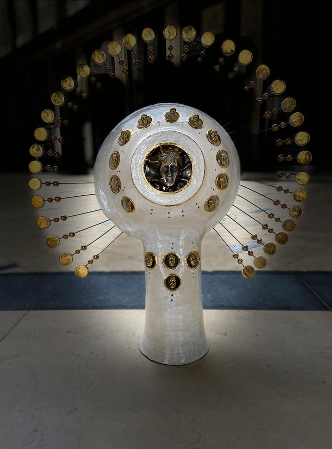 Lampe Soleil Georges Pelletier - Tournaire Paris Place Vendôme