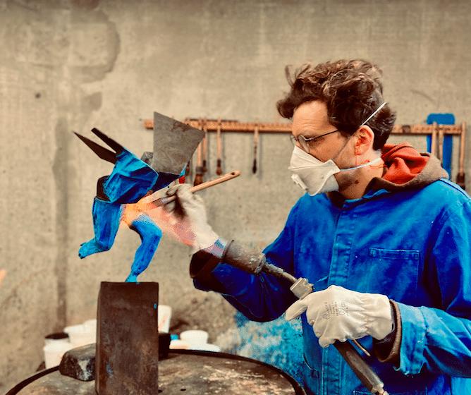 Artiste sculpteur Julien Allegre