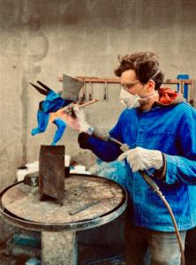 Julien Allegre artiste sculpteur