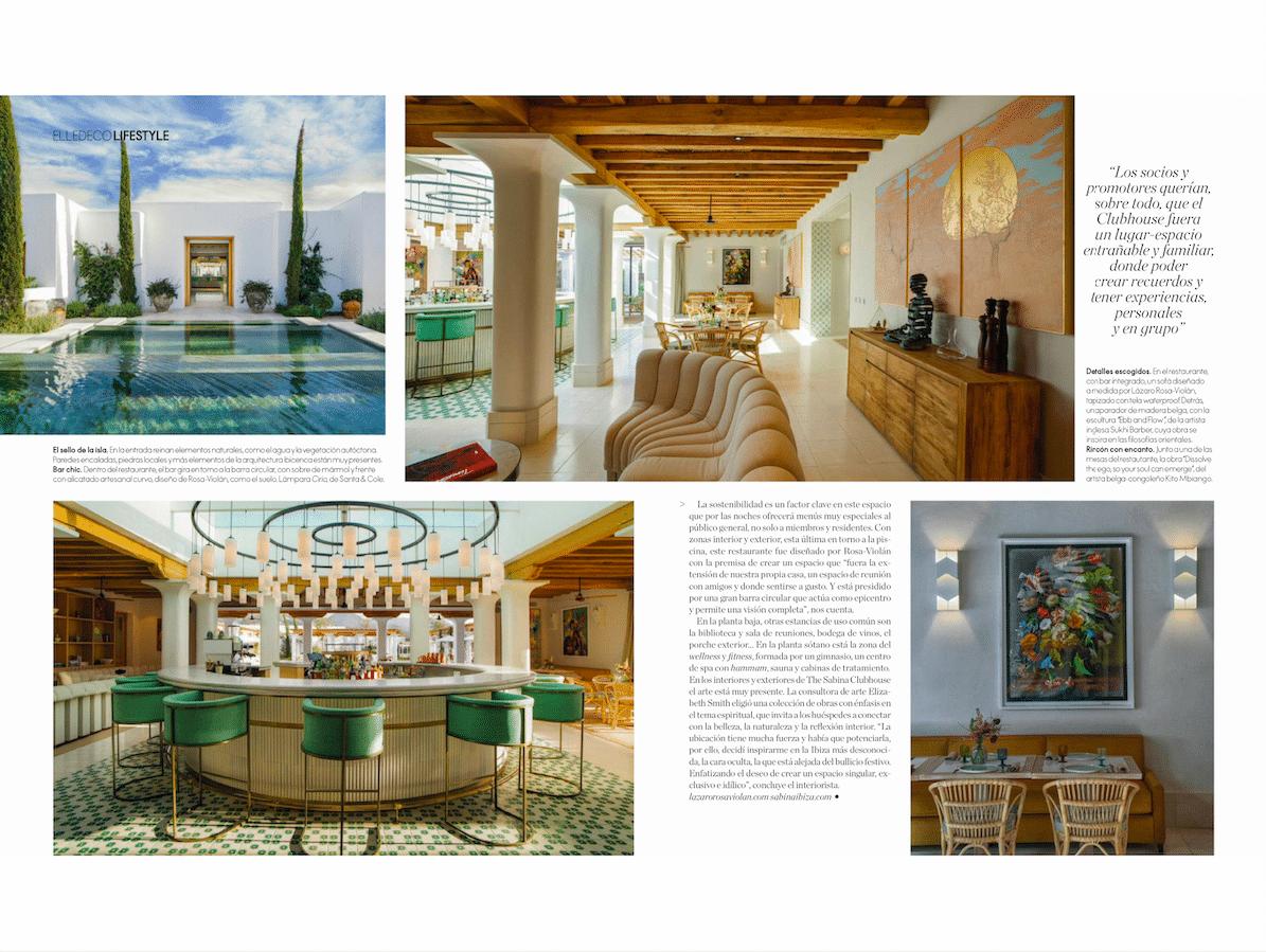 Projet Ibiza Sabina Estates Clubhouse