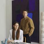 Totem Georges Pelletier Magazine Chez Damir et Charlotte Doma