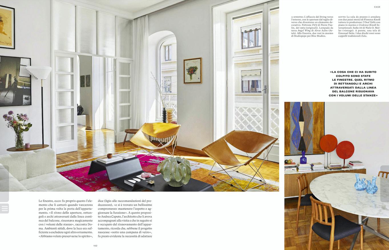 Magazine AD - Création de Georges Pelletier