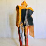 Sculpture monumentale de Julien Allegre - vue arrière