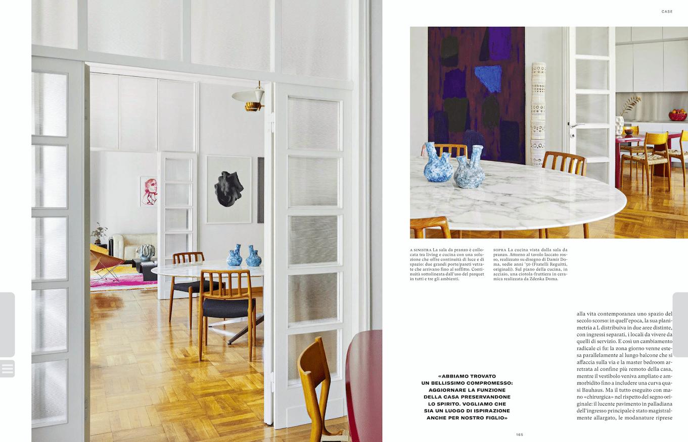 Totem Georges Pelletier dans le Magazine AD