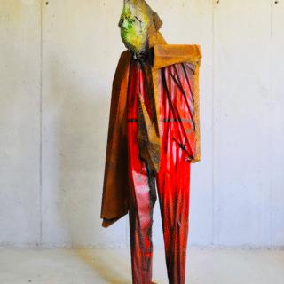 Transmutation - sculpture monumentale de Julien Allegre - vue de face