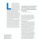 Présentation du projet de Suduca & Merillou dans le magazine AD Septembre 2020