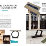 Article sur Antoine Jourdan dans le magazine Ma maison mon projet