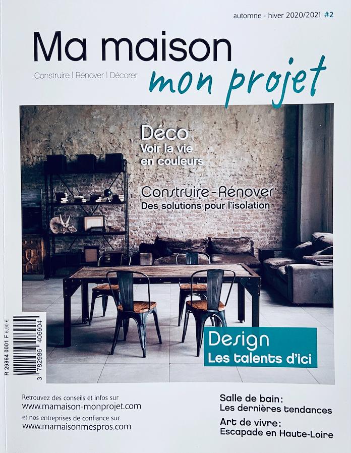 Article sur le designer Antoine Jourdan - Magazine Ma maison mon projet
