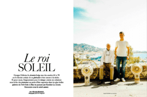 Article dans l'Officiel Georges Pelletier & Benjamin Pelletier
