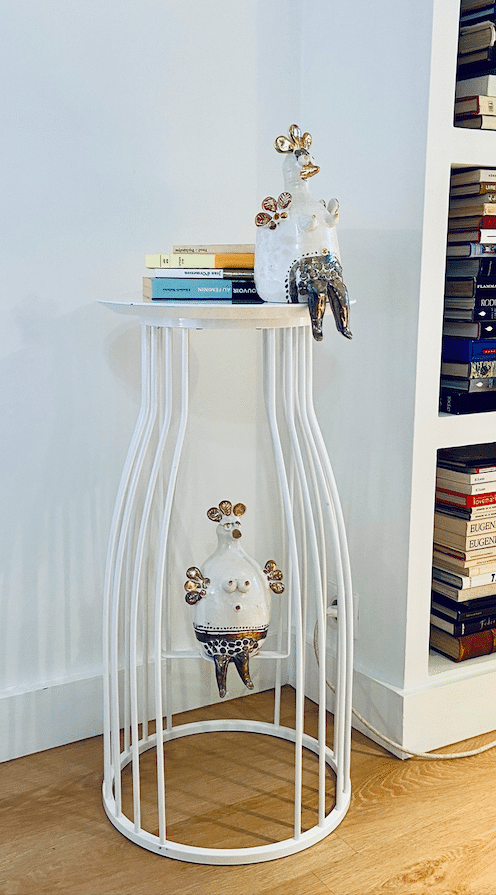 Gamme Ceramica - Guéridon Pompadour Sculptures de Georges Pelletier