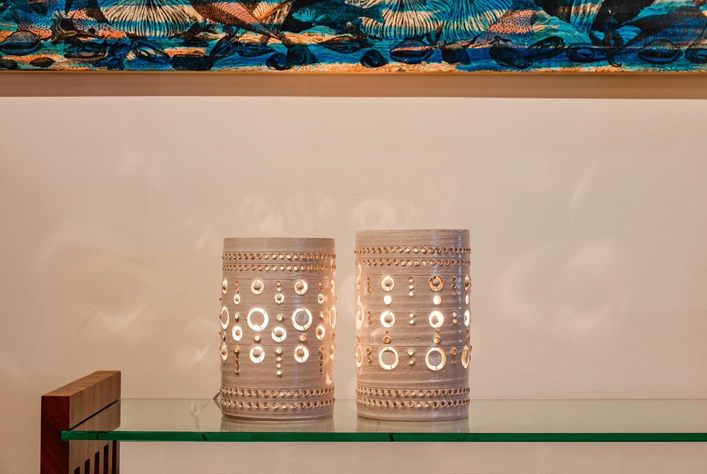 Petits Totems de Georges Pelletier à New York au Studio Van Den Akker