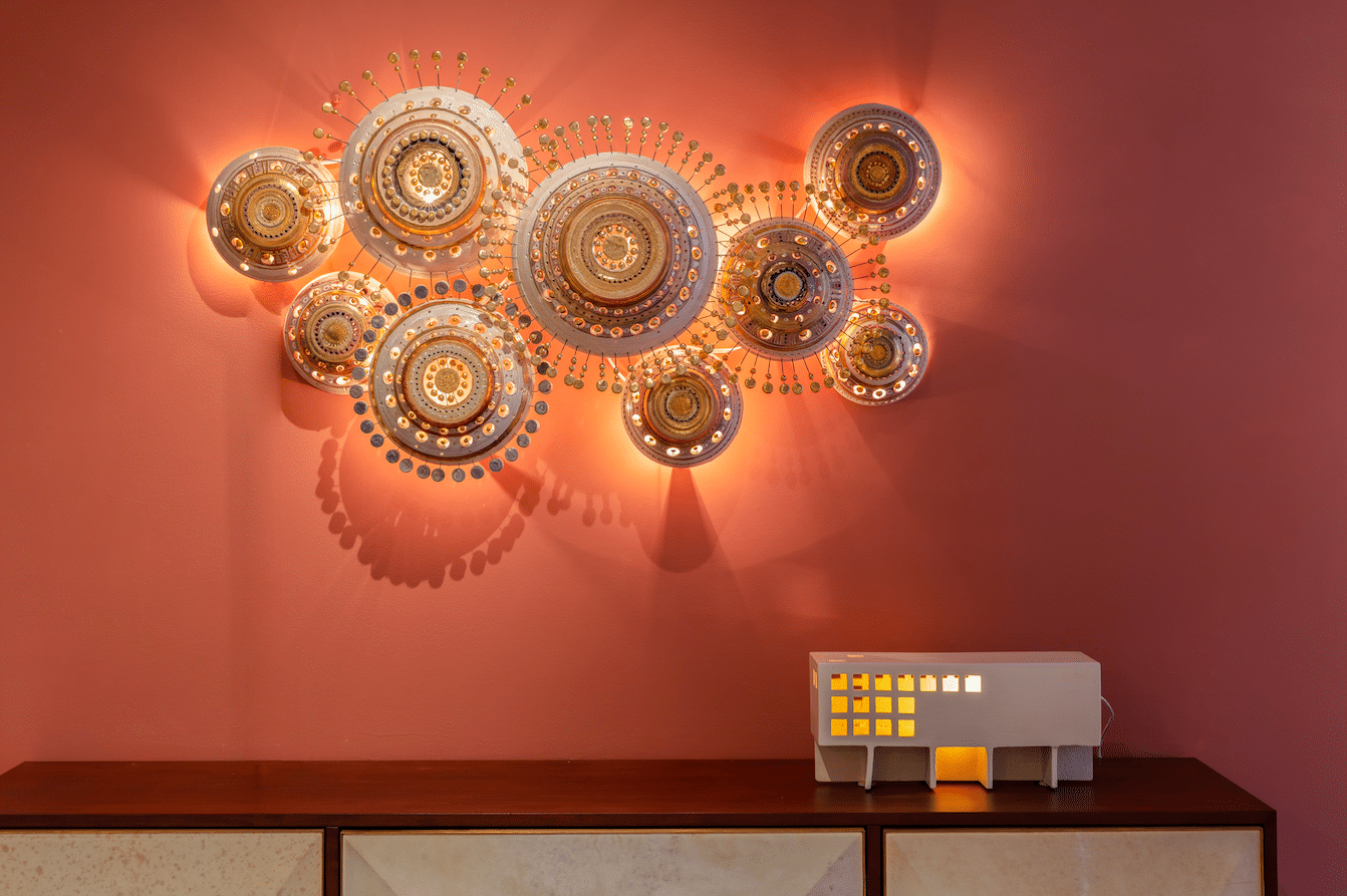 NYC Showroom Sunshine set by Georges Pelletier