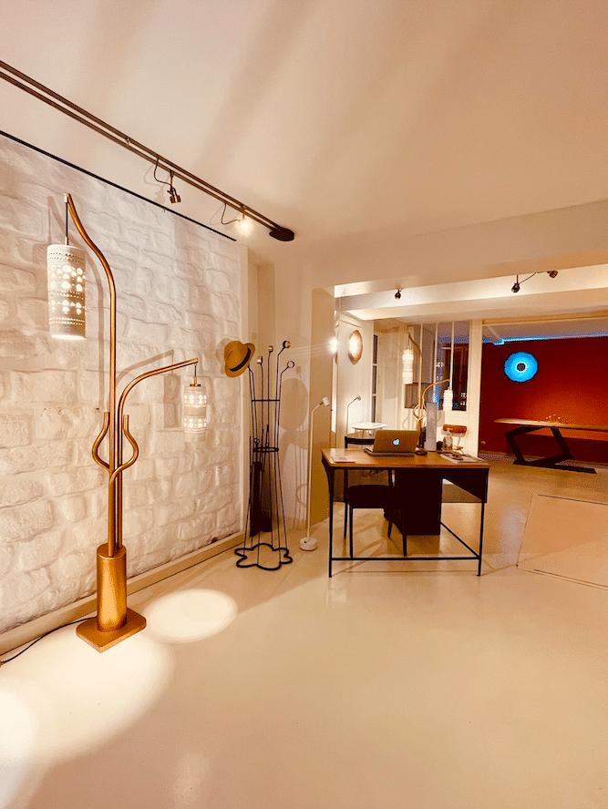 Showroom de Montmartre - Antoine Jourdan et Dominique Réol