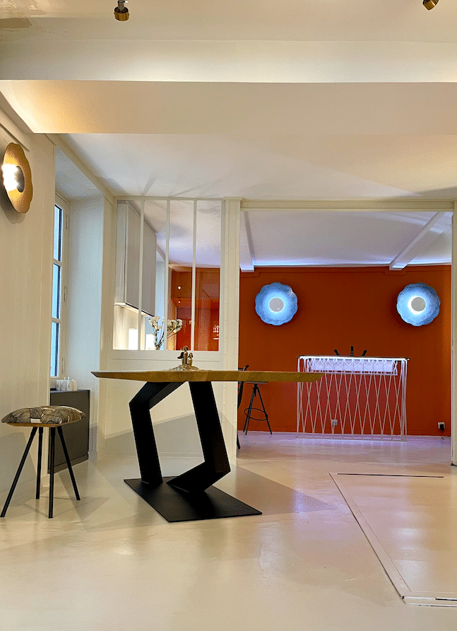 Espace de vente mobilier d'art Antoine Jourdan et Dominique Réol